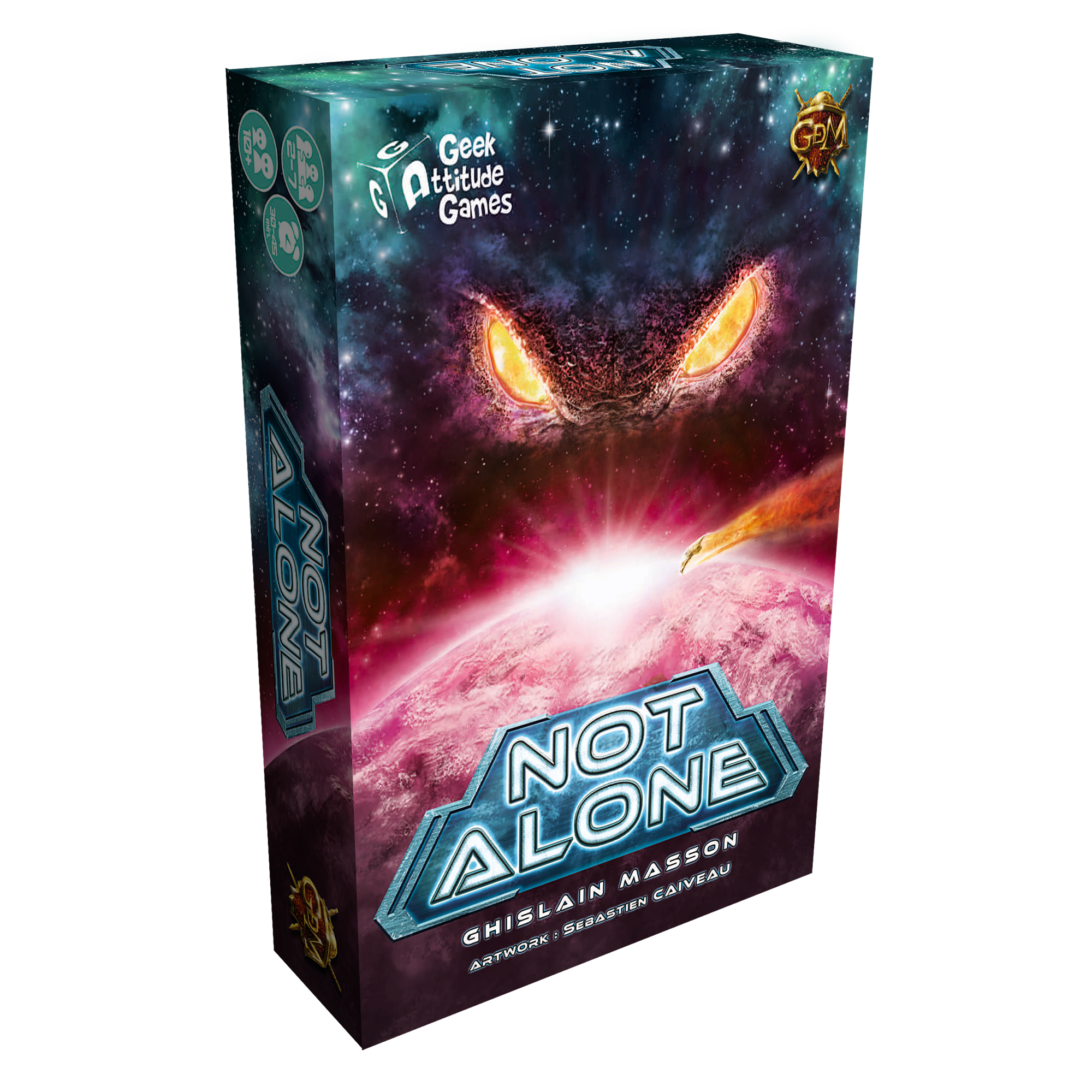 Not Alone – 4ª edición