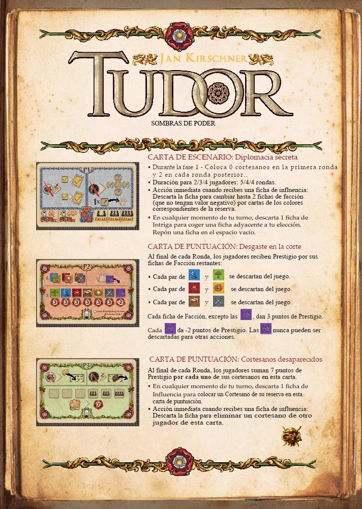 Cartas Promocionales Tudor