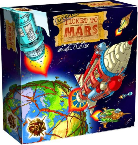 Ticket to Mars – 2ª edición
